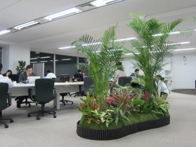 新しい職場環境 ~バイオフィリアの概念~