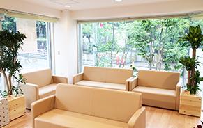 緑がある風景 ~医療施設~